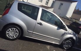 Selling Citroen c2 brand new mot low miles