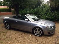2006 AUDI A4 CABRIOLET 2.0TD LOW MILES SERVICE HISTORY