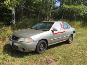 Fix car or use for parts 2001 Sentra