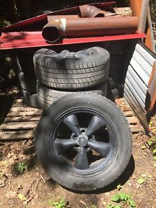 "235 55 17 Tires on 17"" Mustang Rims"