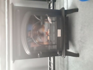 Black Plug In Heater Fireplace Style