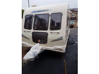 BAILEY PEGASUS 534 4 Berth Touring Caravan 2010