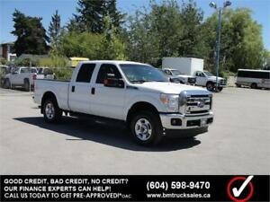2015 FORD F-250 SUPER DUTY XLT CREW CAB SHORT BOX 4X4