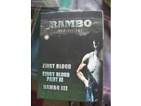 Rambo Trilogy - Sylvester Stallone - BOX SET