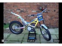 Sherco 250 trials bike 2006