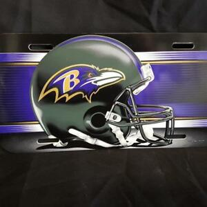 NFL Baltimore Ravens license plate