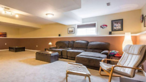Large bedroom and use of full basement & private bathroom