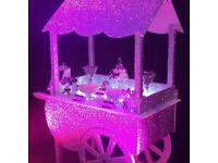 UK's Only Crystal Encrusted Sweet Cart