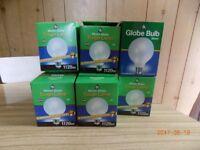 globe bulbs .100 w.and 60 w.