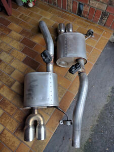 Stainless Exhaust System for C7 Corvette Complete.