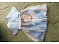 Disney Cinderella dress and cloak 4-5yrs