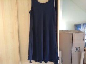 Navy M&S Dress size 14