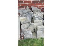York Stone - £1+ per stone - crazy paving, walling, edging, and other pieces