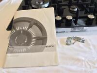 Bosch 5 burner gas hob