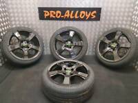 "16"" TEAM DYNAMIC ALLOY WHEELS AND NEW TYRES 4x108 *REFURBISHED* Peugeot Citroen"