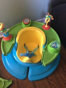 Baby seat well used