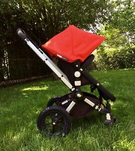 Poussette Bugaboo Frog rouge