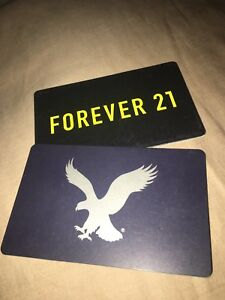 American Eagle & Forever 21 gift cards