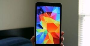 "Samsung Galaxy Tab 4 8"" 16GB Android Tablet - Black - clean"