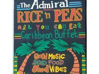 Rice N Peas All You Can Eat Caribbean Buffet at The Admiral