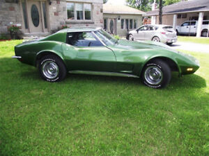 1973 CORVETTE ELKHART GREEN