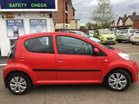 CITREON C1 VTR HDI 1400CC IN RED FULL SERVICE HISTORY CHEAP TO RUN CHEAP TO TAX CHEAP TO BUY