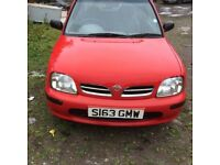For sale nissan micra automatic