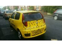 Fiat Punto moted one in minions