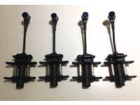 4 x BEYERDYNAMIC OPUS 87 PROFESSIONAL CLIP ON DRUM MICROPHONES.