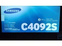 Samsung Cyan C4092S toner