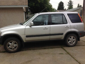 1998 Honda CR-V Minivan, Van