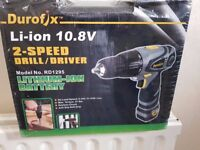 Cordless Drill Brand New in a sealed box
