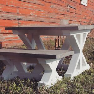 NEW Rustic Farmhouse Table Sets For Kids (delivery available)