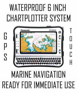 RUGGED MARINE CHARTPLOTTERS - 6, 9, 10, 12, 13, 15 INCH + GPS