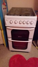 hotpoint gas cooker for sale