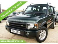LAND ROVER DISCOVERY 2.5 PURSUIT S TD5 136 BHP DIESEL 1 OWNER FROM NEW 7 SEATER