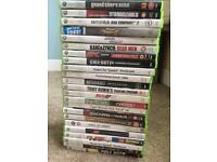 Xbox 360 games job lot (23 games)