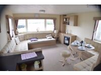 Just In Stock an amazing 3 bedroom caravan at Southerness , South West Scotland , Dumfries , Ayr