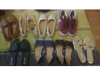 Shoes and sandals job lot