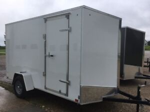 2018  Discovery 6x12 Plus 6 Enclosed Trailer