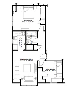 Beautiful 2 Bedroom Across Dal's Howe Hall- Available Sept 1st!