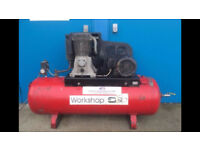 SIP WORKSHOP AIR COMPRESSOR 5.5 HP 200 LTR RECEIVER 415V