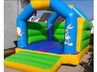 BOUNCY CASTLES, SLIDES, QUADS, INFLATABLES, MASCOTS FOR HIRE