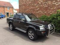 Mitsubishi L200 Warrior Double Cab 2.5TD Low Miles *83,000* Roller shutter, Privacy Glass.
