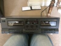 Vintage Technics Twin Tape Deck