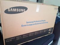 """40"""" Samsung LED Full HD Tv - Flawless Manufacturer Refurbished - Great for Gaming / Businesses"""
