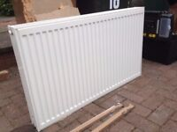 Double panel radiator 1000mm x 600mm x 100mm with brackets and covers Very good condition