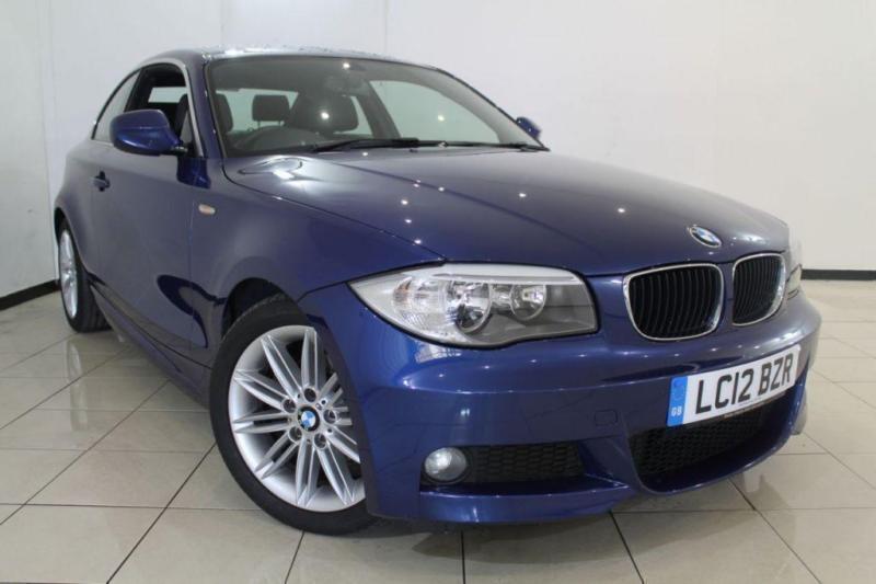2012 12 BMW 1 SERIES 2.0 118D M SPORT 2DR 141 BHP DIESEL