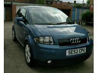 Audi a2 low miles 86000