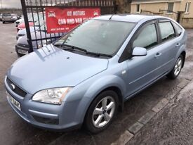 2007 (57) FORD FOCUS STYLE, 1 YEAR MOT, SERVICE HISTORY, WARRANTY